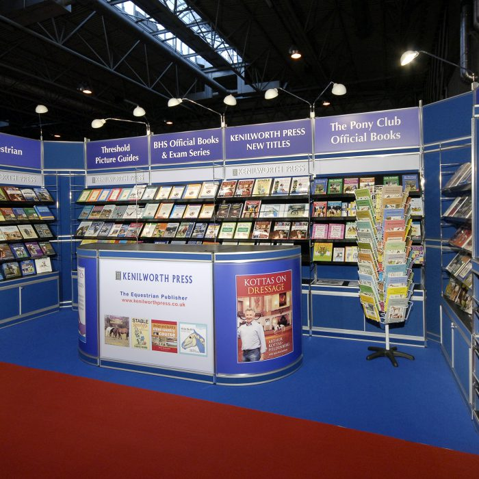 Exhibition stand refurbishment