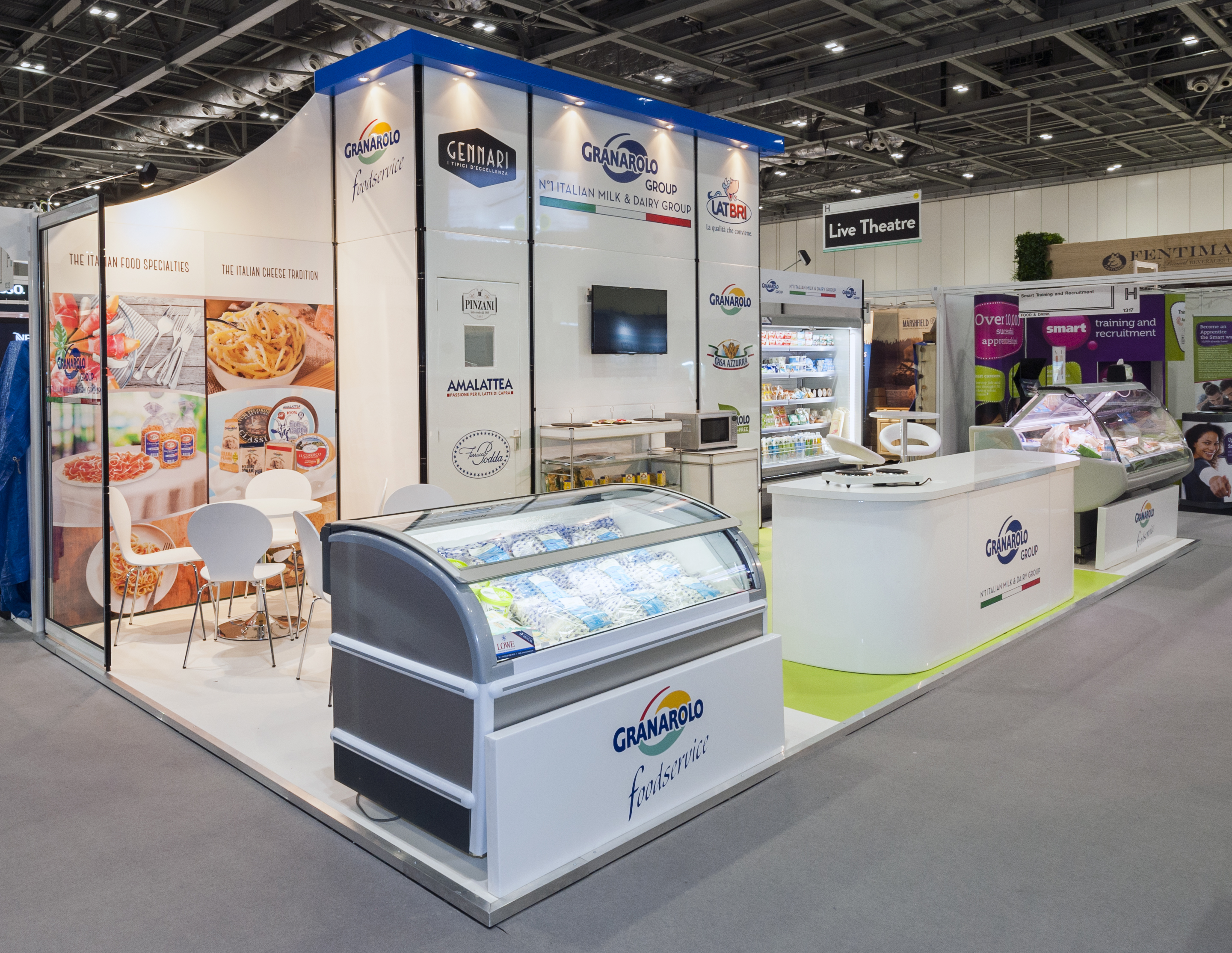 Modular Exhibition Stand Job : Exhibition stands production u creative roots