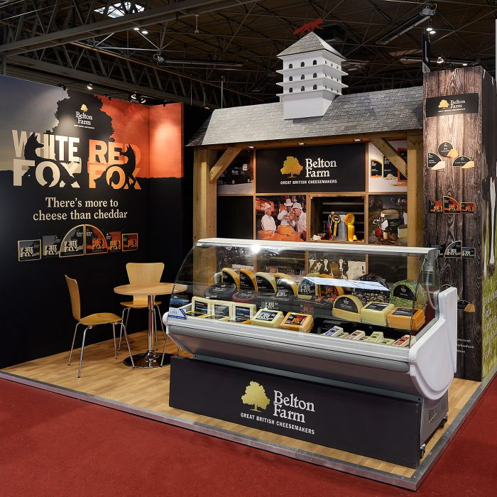 Our custom build exhibition stands