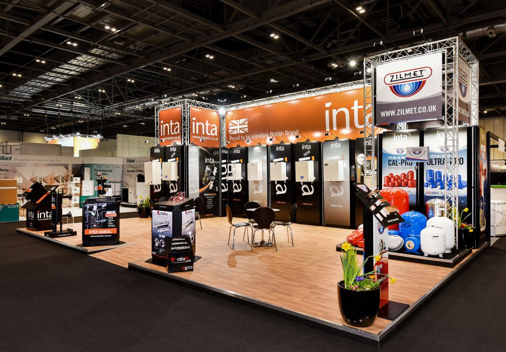 Exhibition stand design for Inta