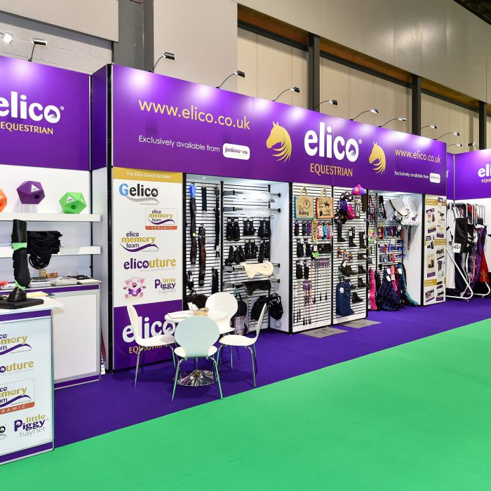 Exhibition stand design for Elico