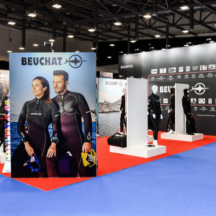 Exhibition stand design for Suunto