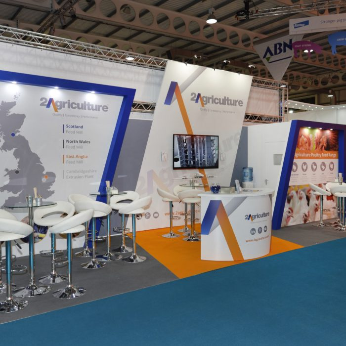 Exhibition stand design for 2Agriculture