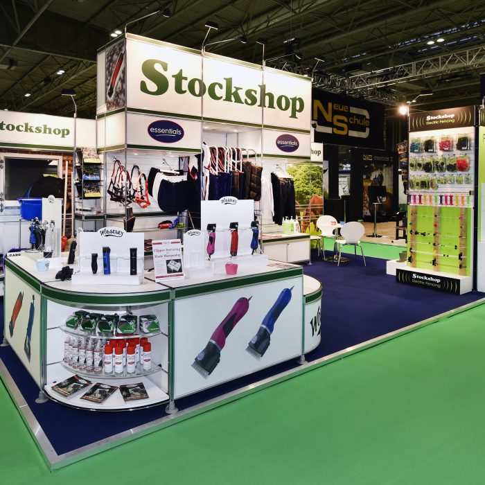 Exhibition stand design for Stockshop