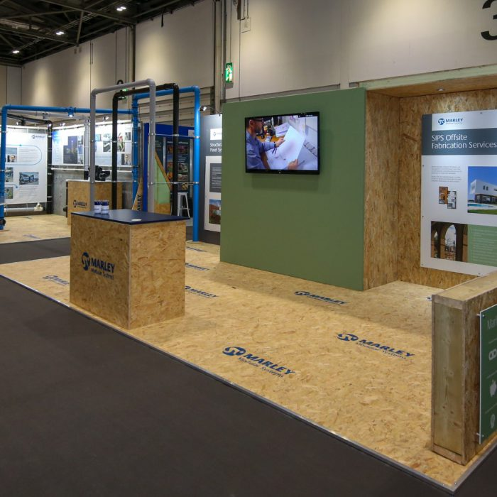 Exhibition stand design for Aliaxis