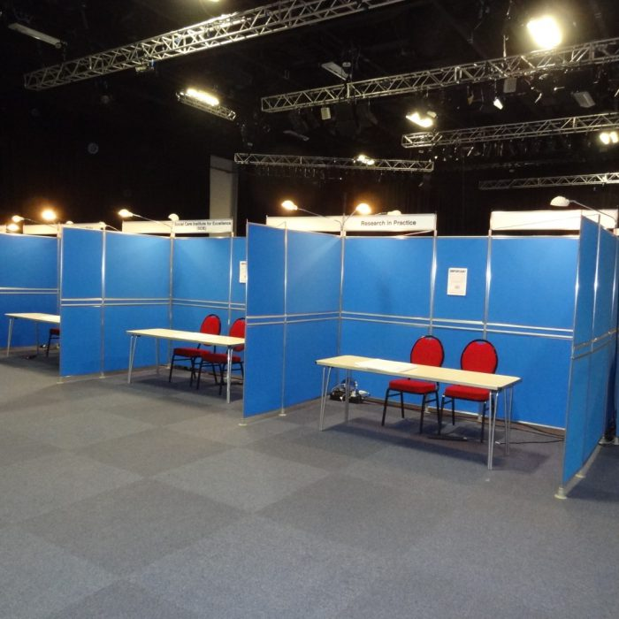 Exhibition stand for NSSCW