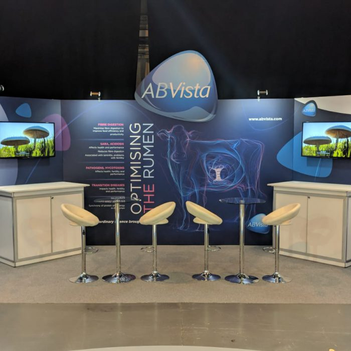 Exhibition stand design for AB Vista