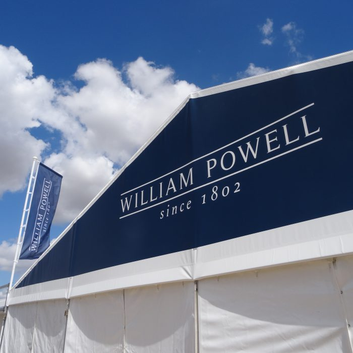 Exhibition stand design for William Powell
