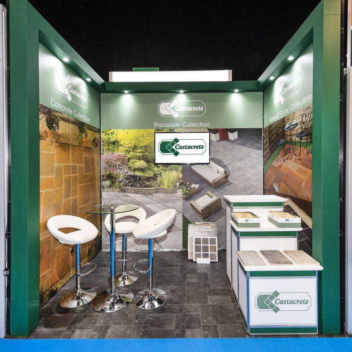 Exhibition stand design for Castacrete