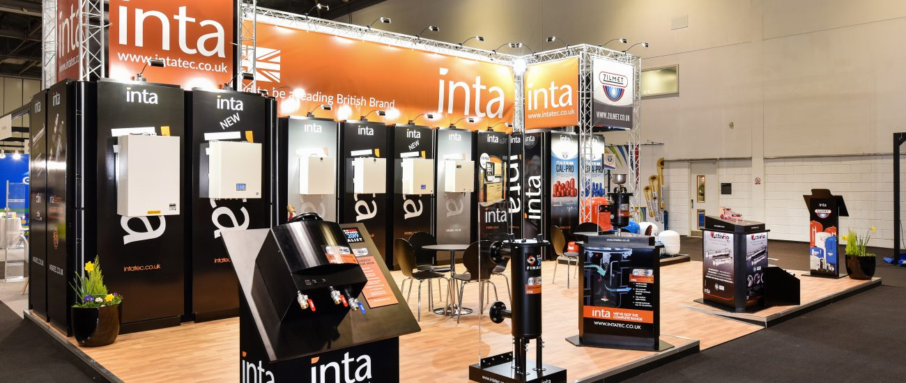 Modular exhibition stand for Inta