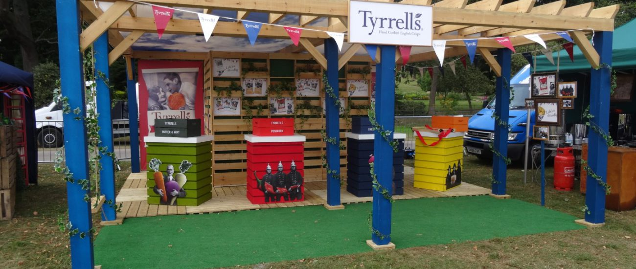 Tyrrells' Outdoor Exhibition Stand