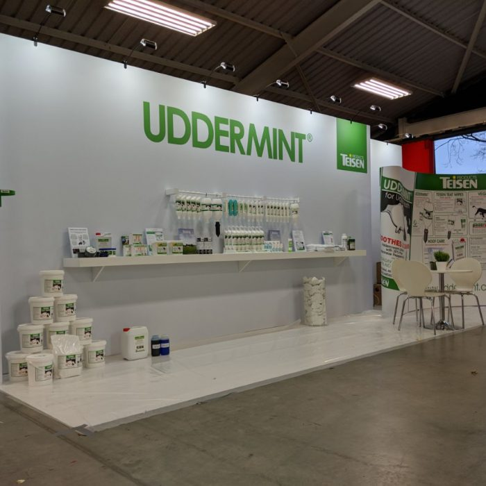 Exhibition stand design for Teisen