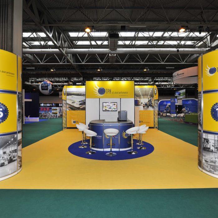Exhibition stand design for The Pallet Network