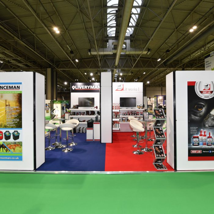 Exhibition stand design for Agrihealth