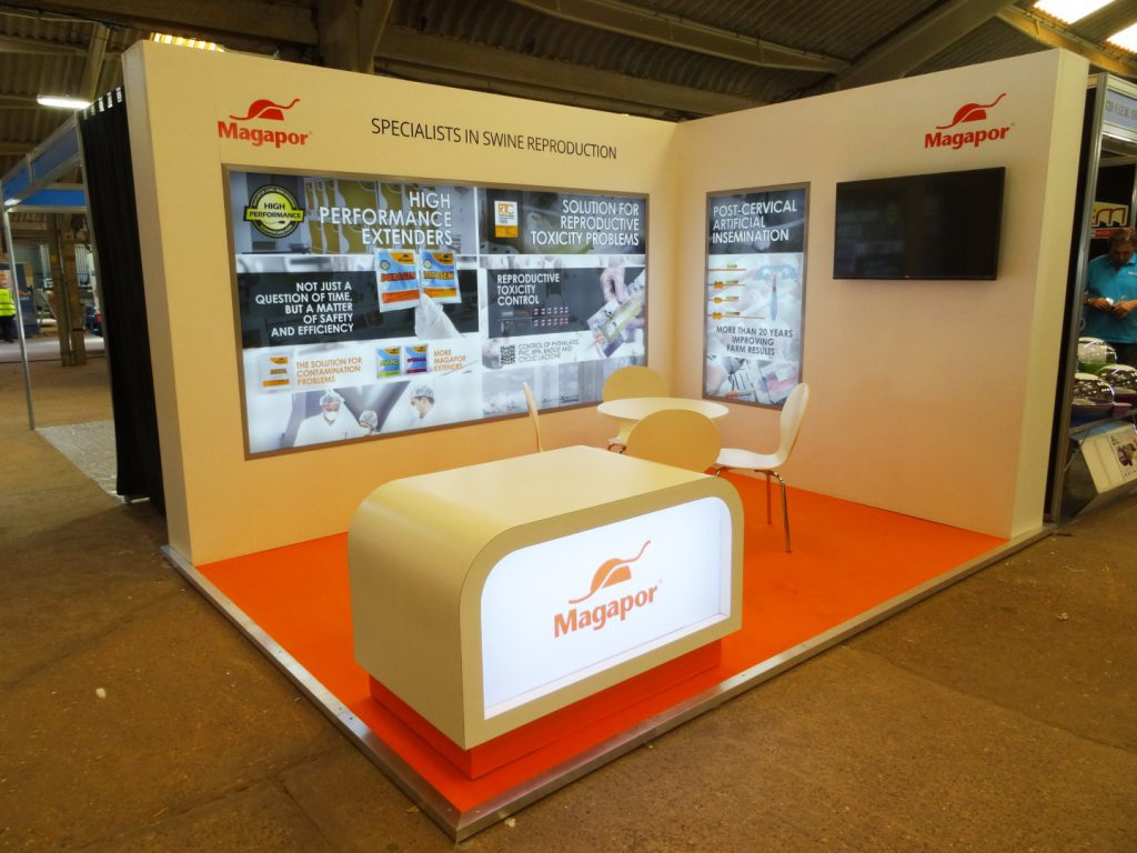 Magapor's Custom Built Exhibition Stand