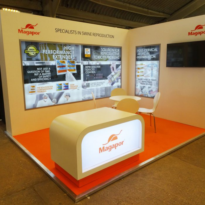 Exhibition stand design for Magapor