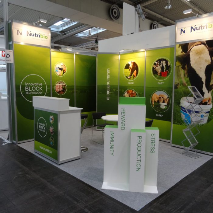 Exhibition stand design for Nutribio