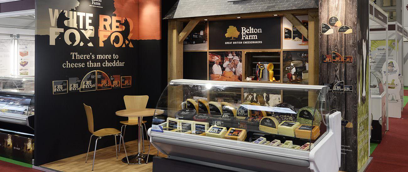 Belton Farm's Modular Exhibition Stand