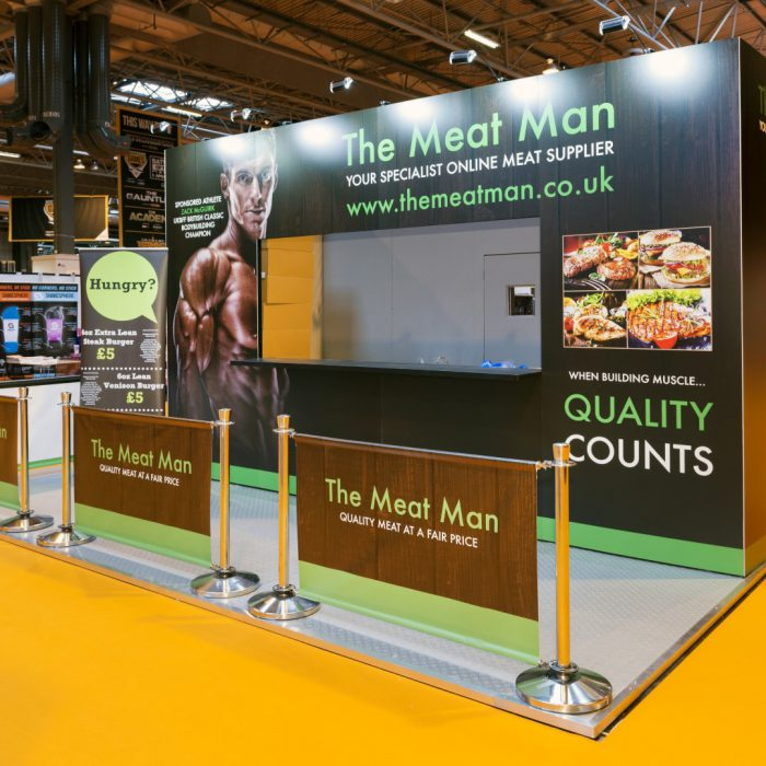 Exhibition stand for The Meat Man