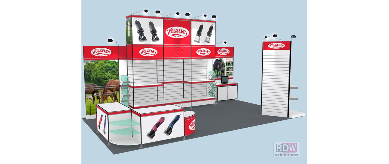 Stockshop's Modular Exhibition Stand