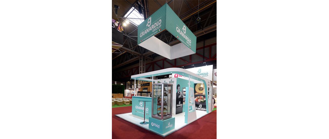 Granarolo's Custom Built & Modular Exhibition Stands