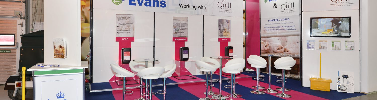 Portable exhibition stand displays & accessories