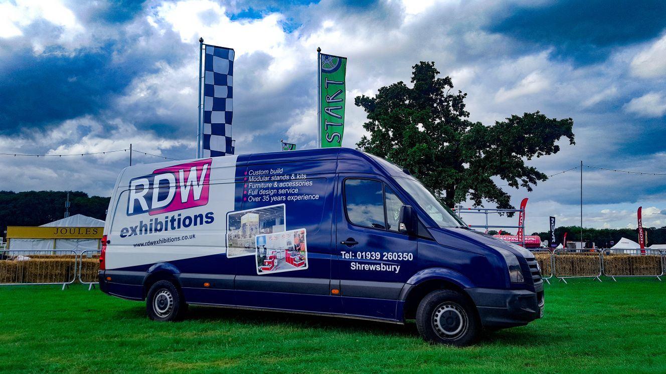 RDW Exhibition's van