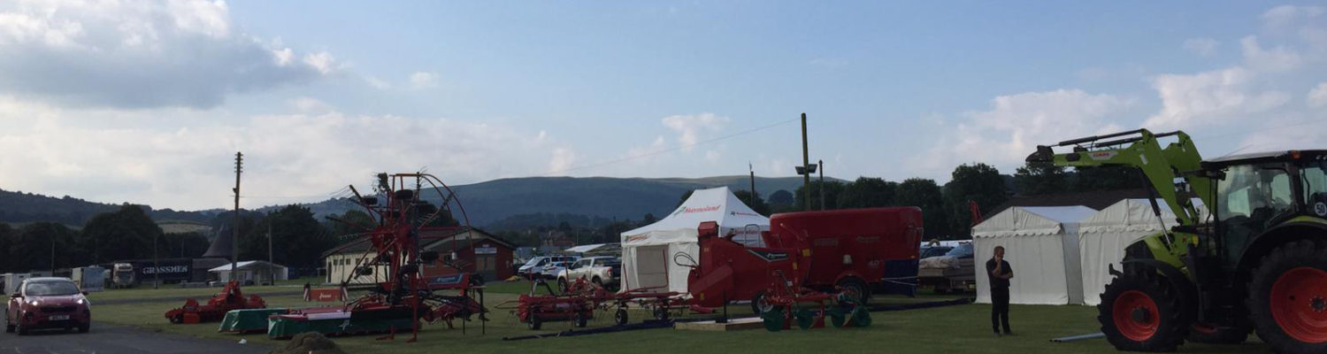 Our Exhibition Stands At The Royal Welsh Show