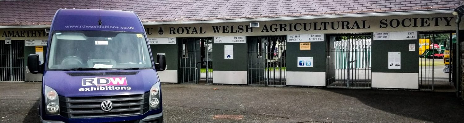 RDW Exhibitions Van At The Royal Welsh Show