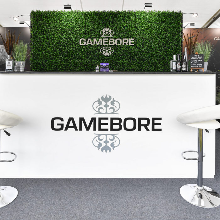 Exhibition stand design for Gamebore Cartridge Company