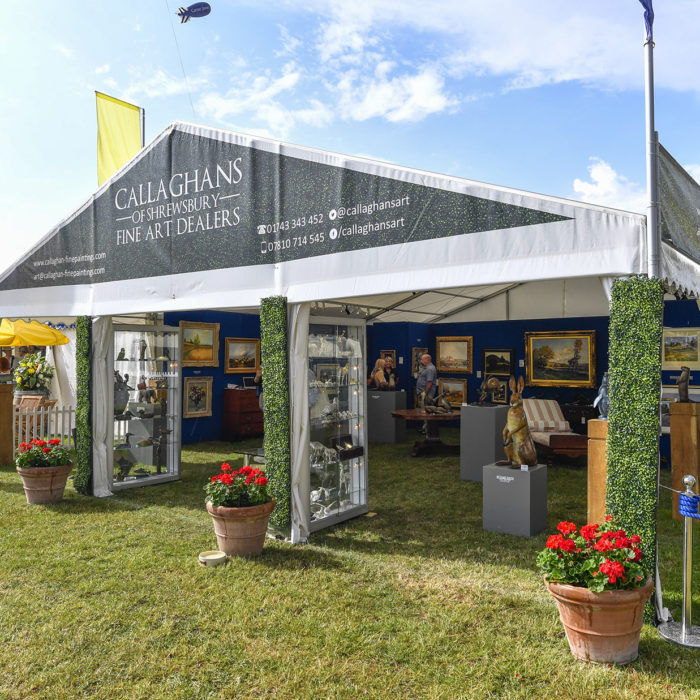 Exhibition stand design for Callaghans of Shrewsbury