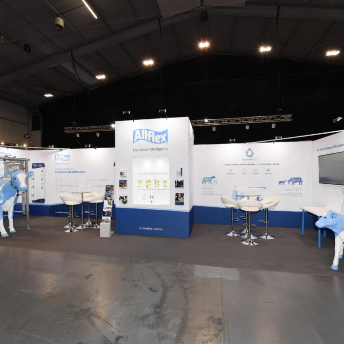 Exhibition stand design for Allflex