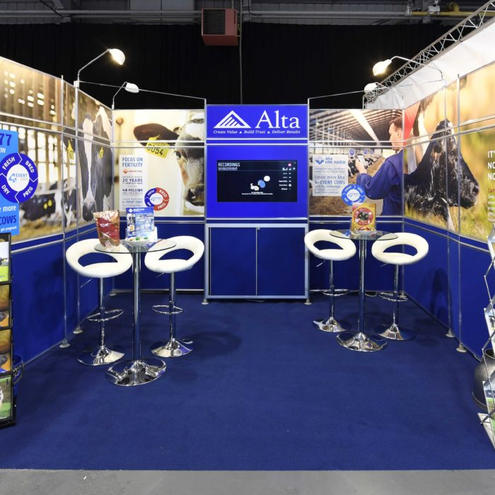 Exhibition stand design for Alta Genetics