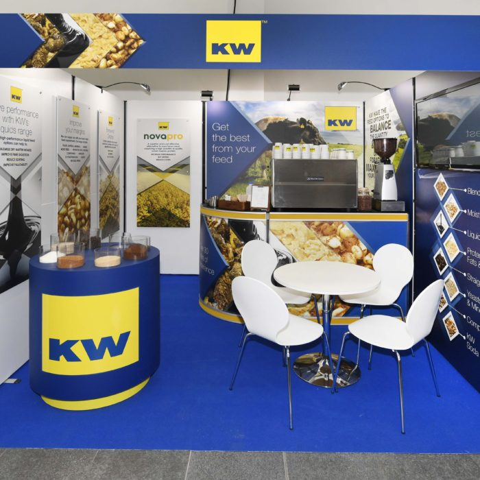 Exhibition stand design for KW Alternative Feeds