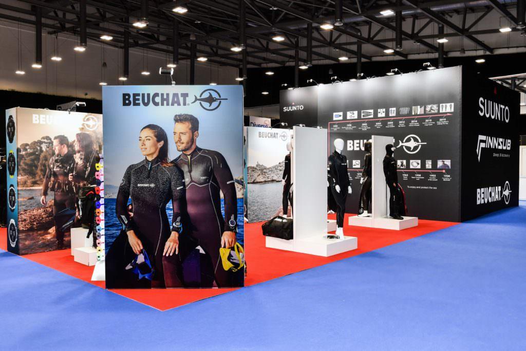Suunto's Custom Built Exhibition Stand