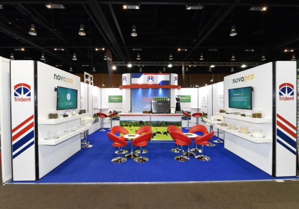 Exhibition stand design for Trident