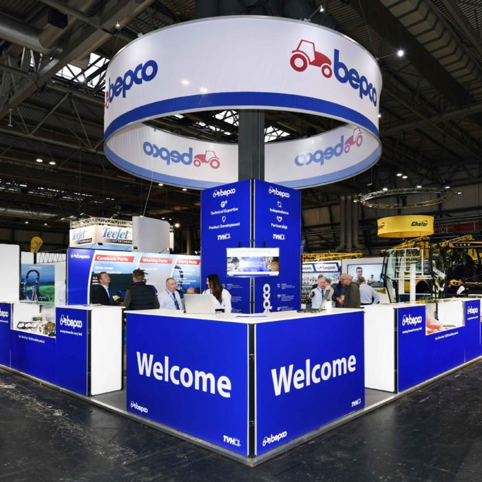 Exhibition stand design for BEPCO UK