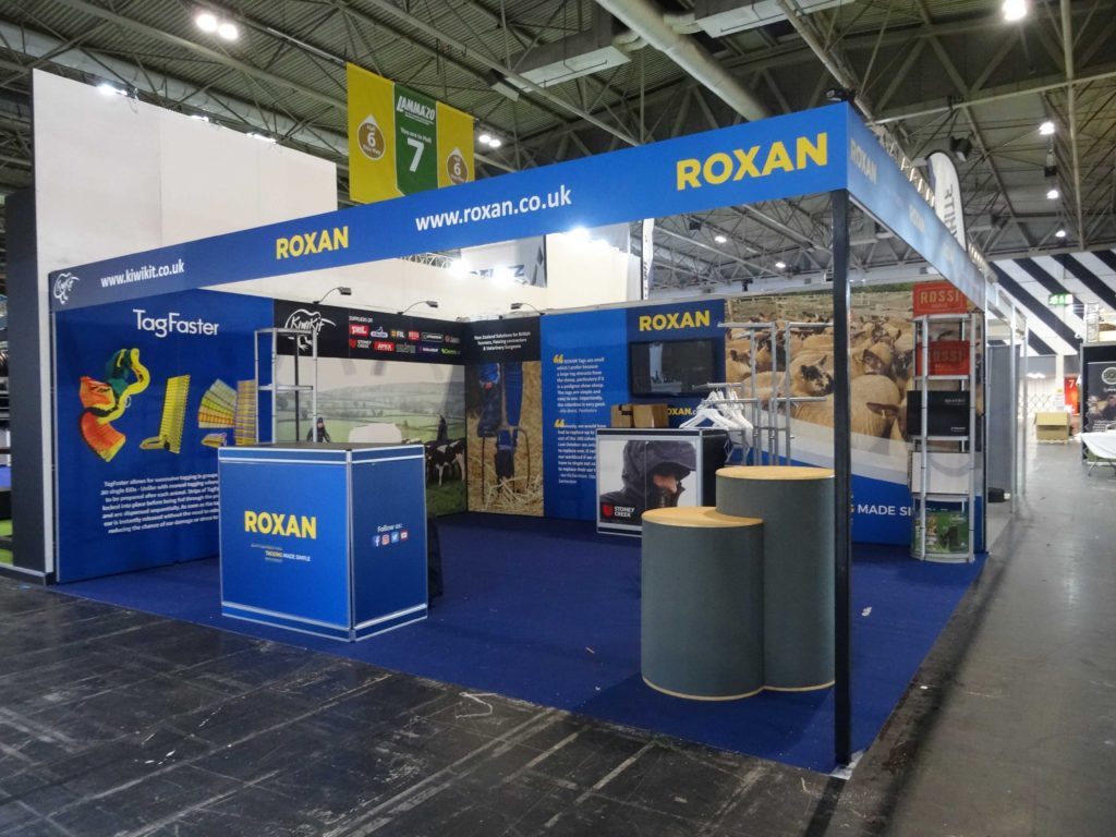 Our exhibition stands at LAMMA 2020
