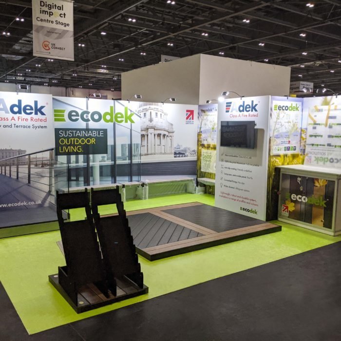 Exhibition stand design for Ecodek