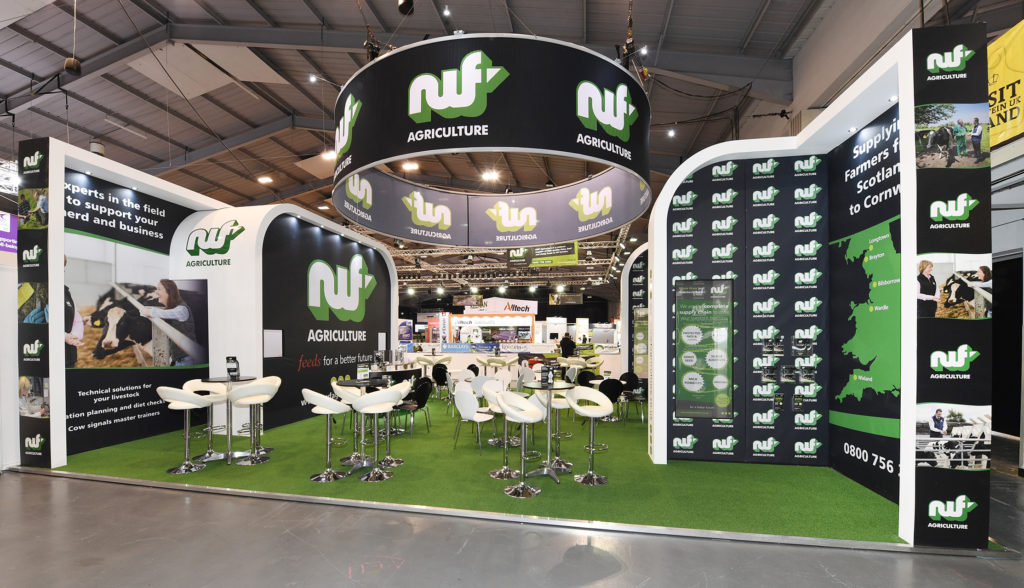 NWF's exhibition stand at UK Dairy Day