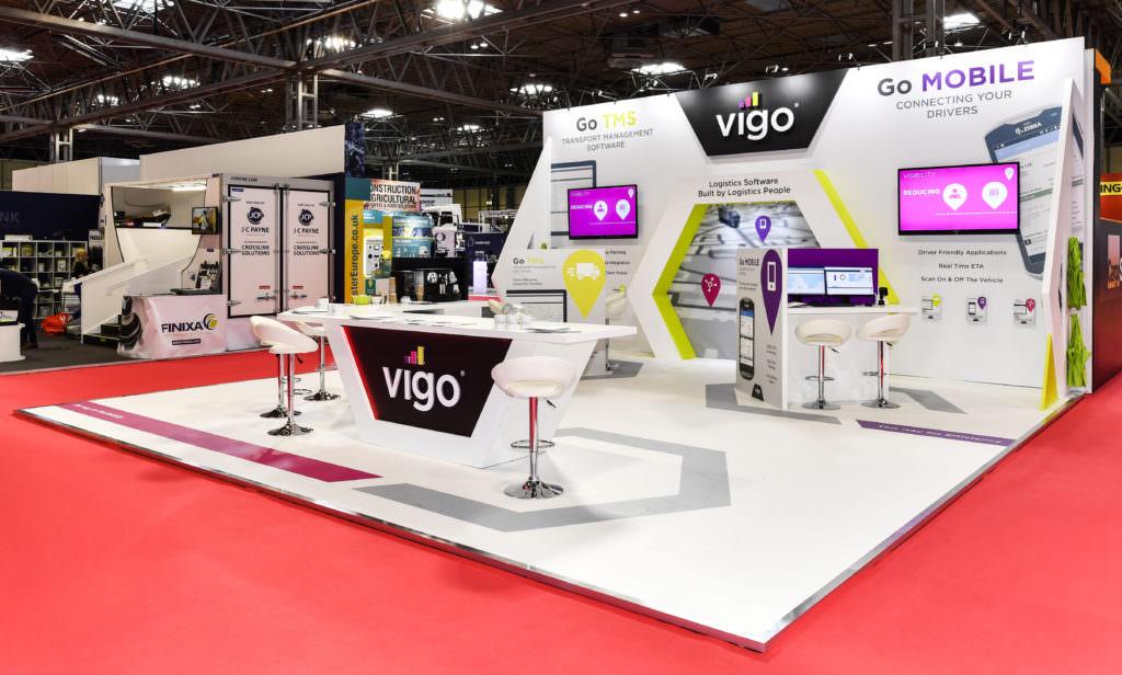 Vigo's exhibition stand at The CV Show