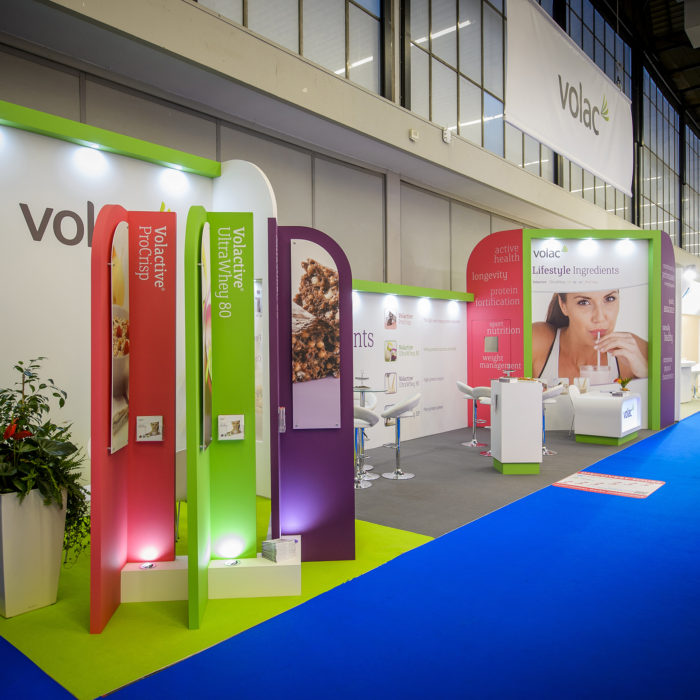 Exhibition stand design for Volac